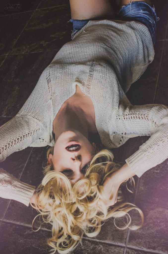 Nikee Leigh laying down