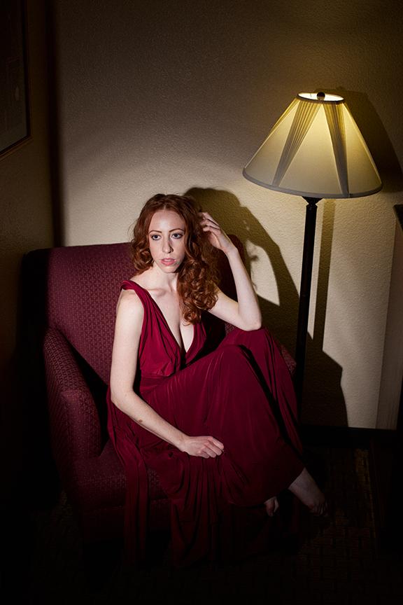 Gorgeous Redhead Chara Burgh