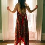 Red Dress Window