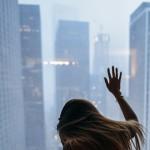 Skyline with Kyra by George Vordos