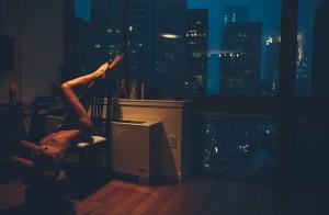 Nighttime nude of Kyra by George Vordos